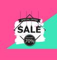 universal sale background design for banner vector image