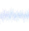 abstract background with noise from lines blue vector image vector image