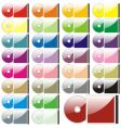 compact disks vector image vector image