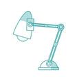 desk lamp design vector image