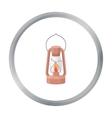 Kerosene lamp icon in cartoon style isolated on vector image vector image