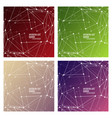 set of minimal geometric background dynamic vector image vector image