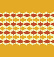 vintage seamless background retro pattern vector image