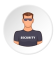 Security icon flat style vector image