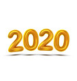 2020 new year celebrate concept banner vector image vector image