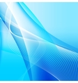 Abstract background with wave vector image vector image