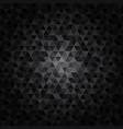 abstract texture triangle vector image vector image