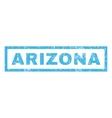 Arizona Rubber Stamp vector image vector image