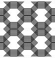 design seamless monochrome grating pattern vector image vector image