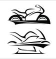 Motorbike symbol vector image vector image