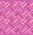 pink abstract seamless diagonal stripe tile vector image vector image