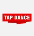 tap dance vector image vector image