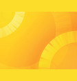abstract yellow circle summer background vector image