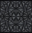 black abstract texture vector image