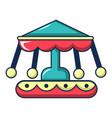 carousel icon cartoon style vector image