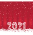 happy new year red festive curtain background and vector image