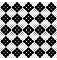 square pattern background - monochrome abstract vector image vector image