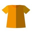 t-shirt uniform team icon vector image vector image
