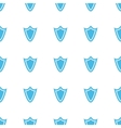 Unique Shield seamless pattern vector image vector image