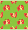 colorful butterfly decorative seamless pattern vector image