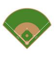 baseball field icon flat