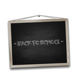 Black chalkboard in wooden frame