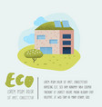 environmental conservation eco alternative energy vector image