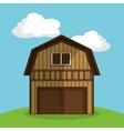 farm barn vector image vector image