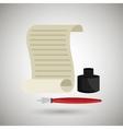 fountain pen design vector image