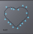 light effects on a transparent background vector image