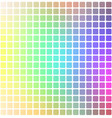 light rainbow rounded mosaic background over vector image vector image