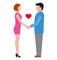 love relationship icon vector image