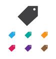 of trade symbol on badge icon vector image vector image