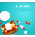 Pills Bottle Realistic