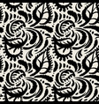 seamless watercolor textile doodle pattern grunge vector image vector image