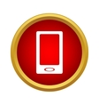 Smartphone icon in simple style vector image