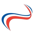 style french flag vector image