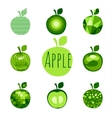 Water apple sign vector image vector image