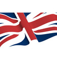 a union flag vector image vector image