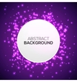 Abstract background with lights vector image
