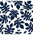 beautiful floral leaf seamless pattern