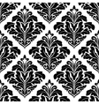 Bold floral arabesque seamless pattern vector image vector image