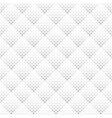 geometrical seamless monochrome rounded square vector image vector image