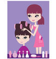 hairdresser vector image