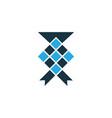 ketupat colorful icon symbol premium quality vector image vector image