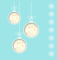 new year greeting card template holiday vector image