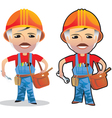 profession working man vector image