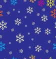 seampless pattern christmas vector image vector image