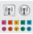 wireless icon 1 vector image vector image