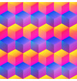 bright square pattern vector image vector image